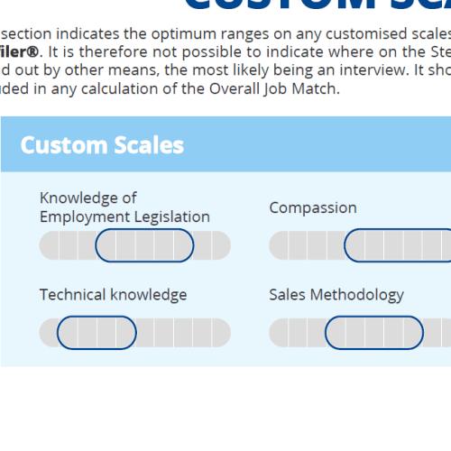 Custom Scales