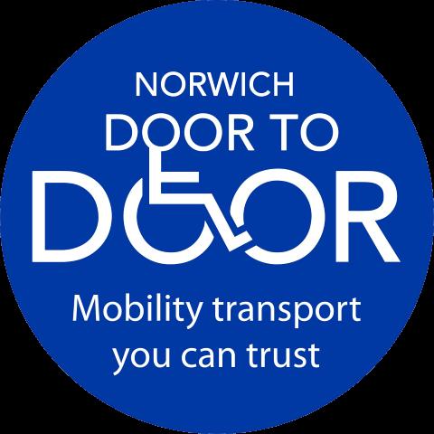 Norwich Door to Door's Logo